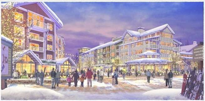 Killington Village: One step closer