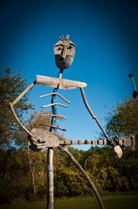 Sculpture in Vermont