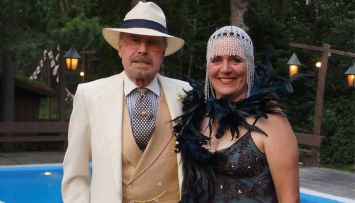 The 20's come roaring back with Great Gatsby Party at Summit Lodge