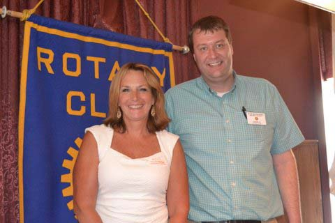 Ludlow Rotary Club welcomes Susan Mollohan