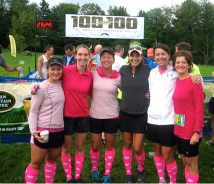"""Hot Mamas for Heather"" prepare to run 100 on 100 Relay in fundraising support of their fellow Rutland Town mom and friend"