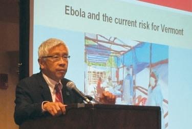 Ebola in Vermont? Chen addresses question at Killington Confrence