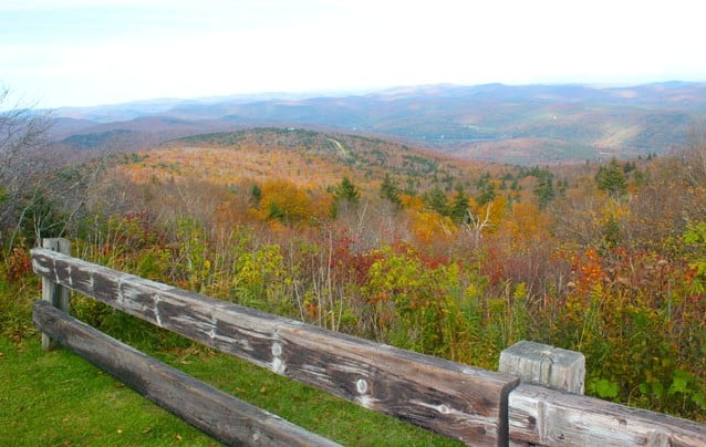 Explore high peak routes for foliage
