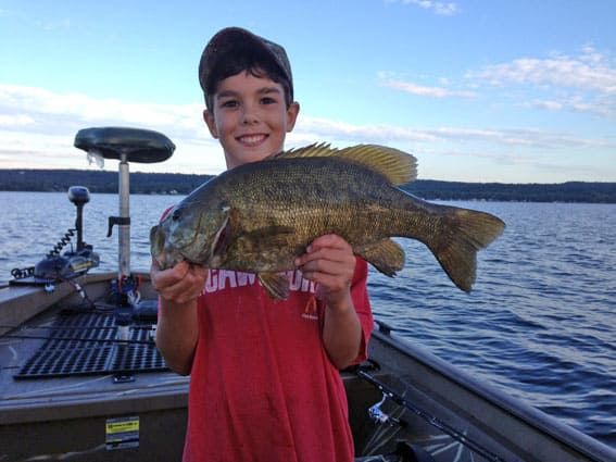 Lake champlain ranked among top smallmouth bass fisheries for Best fishing in the us