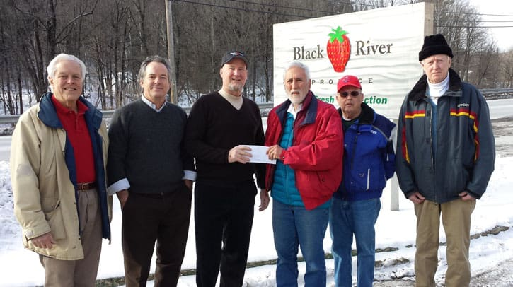 Black River Produce donates land to food shelf