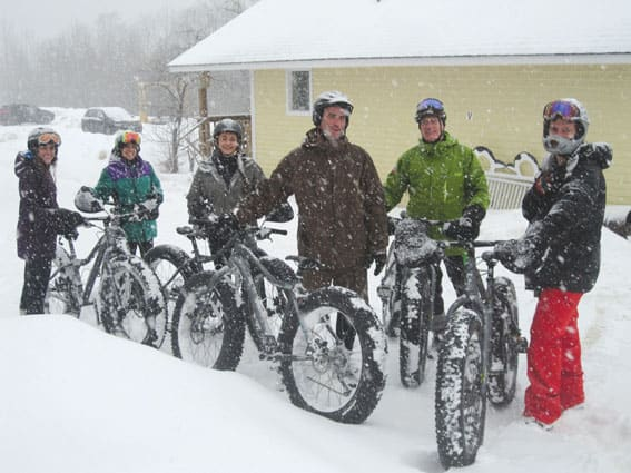 Fat bikes arrive in Killington