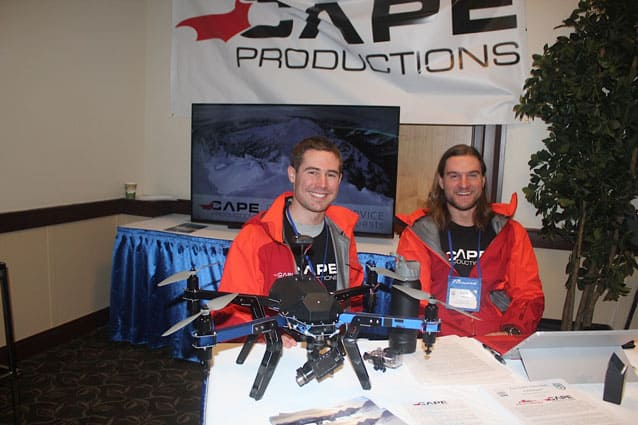 Drones to aid ski area operations?