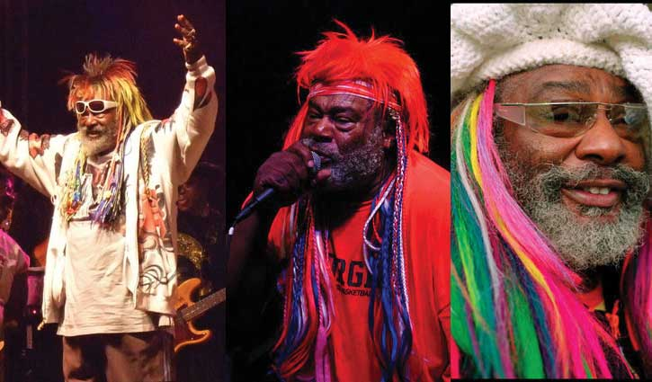 Funk icon George Clinton performs at The Pickle Barrel