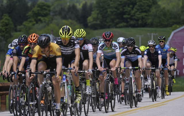 Cyclists speed through Central Vt during annual Stage Race