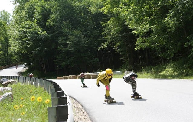 Downhill Throwdown