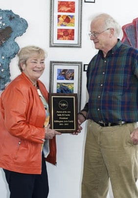Sally Curtis honored as Patron of the Arts