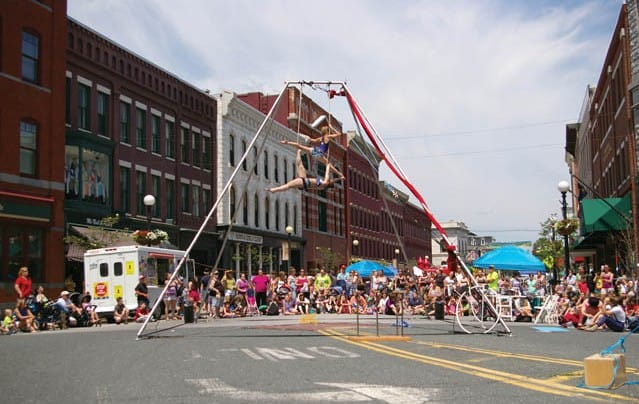 downtown rutland brims with activities the mountain times