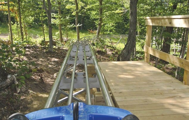New Beast Mountain Coaster thrills riders