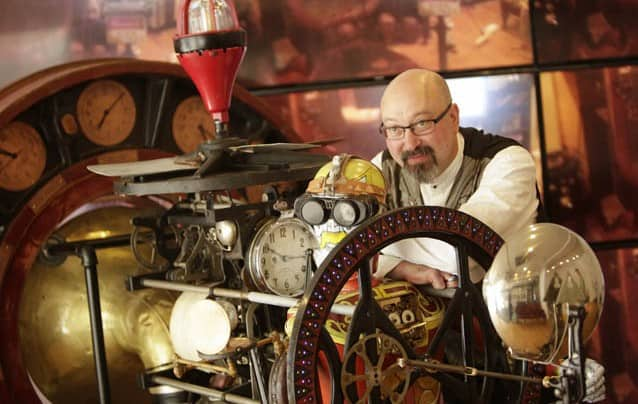Grab your goggles, jump into your airship and head to the Springfield Steampunk Festival