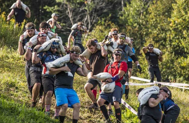Gallery: Spartans descend upon Killington, ascending its many mountains