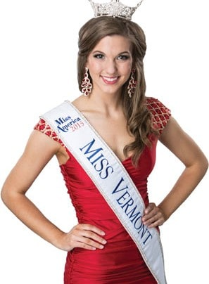 Opportunities offered with the Miss Vermont organization