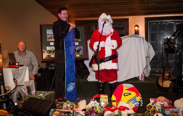 Ted Arbo's holiday toy party raises over $19,000 for local charities