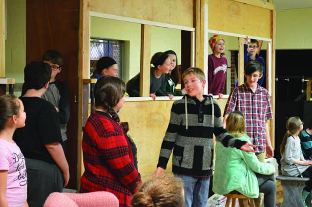 rutland youth theatre presents �the orphan train� the