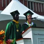 Green Mountain College Commencement with Dr. John P. Holdern