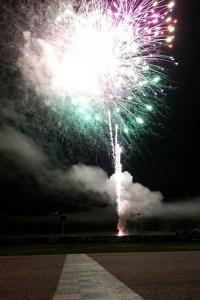Fireworks at Devils Bowl Raceway