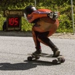 "Downhill Throwdown 2016 by Paul Holmes Skate Boarder ""Bear"" Speed Trap"