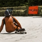 Downhill Throwdown 2016 by Paul Holmes Skate Boarder