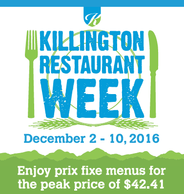 The Town of Killington's Restaurant Week continues through Dec.10.