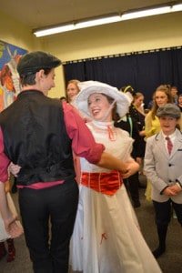 """Courtesy of Rutland Youth Theatre Rutland Youth Theatre actors perform a dress rehearsal of their upcoming production of """"Mary Poppins, the Broadway Musical."""""""
