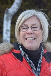 Portrait of Diane Mueller outside