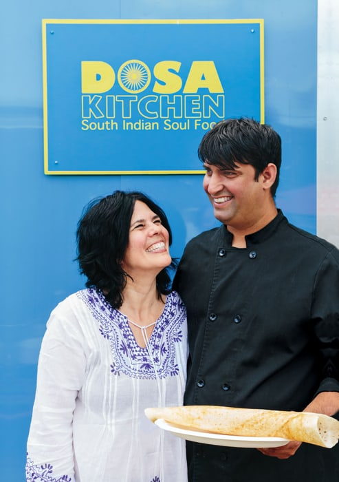 """Courtesy Phoenix Books Nash Patel and Leda Scheintaub, authors of """"Dosa Kitchen,"""" will be available for meet-and-greet —and have samples of dosas available."""