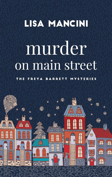 "Submitted Lisa Mancini's second book, ""Murder on Main Street"" will be available in October."