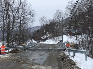 By Kip Dalury The River Road bridge is open after five weeks of construction.