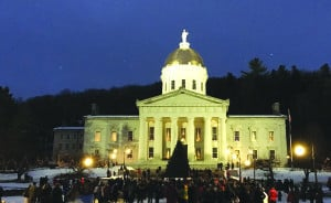 Submitted A 2,000-pound tree from Hartland was selected for the State House lawn in Montpelier.