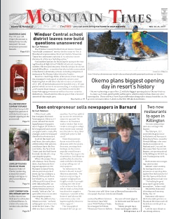 The Mountain Times – Volume 48, Number 47: Nov. 20-26, 2019