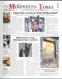 Mountain Times- Volume 48, Number 49: Dec. 4-10, 2019