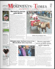 Mountain Times- Volume 48, Number 51: Dec. 18-24, 2019