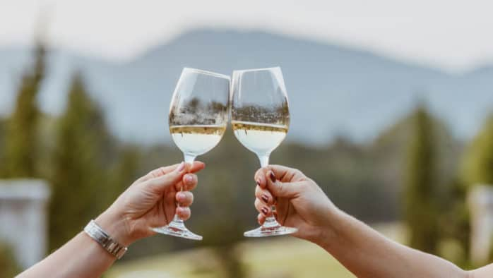 Autumn wine tasting fundraiser at Echo Lake Inn to benefit the Independent School in Ludlow
