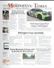 Mountain Times – Volume 49, Number 35 – Aug.26-Sept.1, 2020