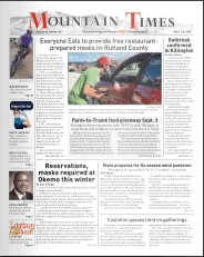 Mountain Times – Volume 49, Number 36 – Sept.2-8, 2020