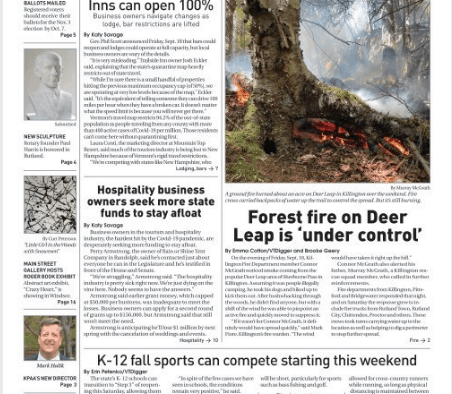 Mountain Times – Volume 49, Number 39 – Sept.23-29, 2020