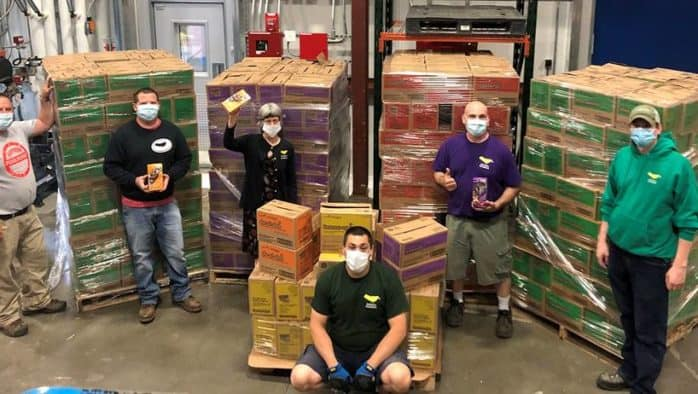 Girl Scouts donate more than 81,000 packages of cookies