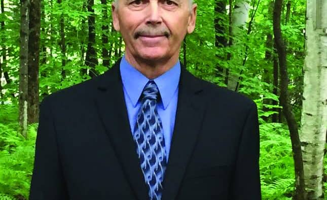 Larry Courcelle, an Independent running for Rutland County