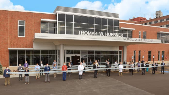 RRMC cuts the ribbon on Thomas W. Huebner Medical Office Building