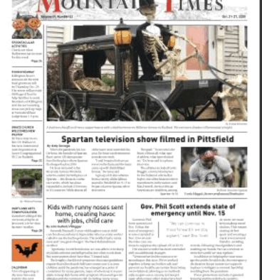 Mountain Times – Volume 49, Number 43- Oct. 21-27, 2020