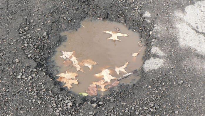 Ode to a Pothole Garden