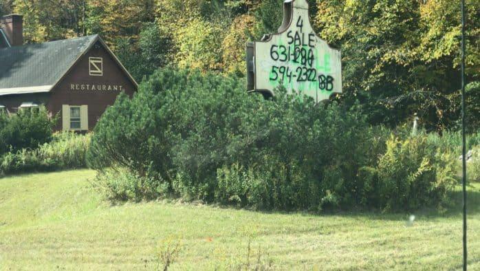 Owner cited for sign violation
