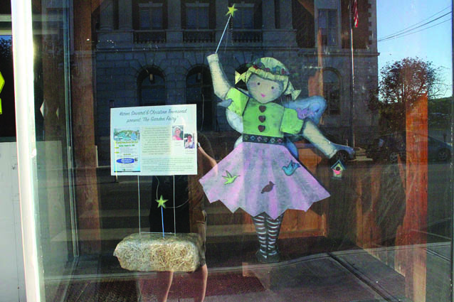 "scarecrow - Karen Seward and Christine Townsend ""Garden Fairy"""