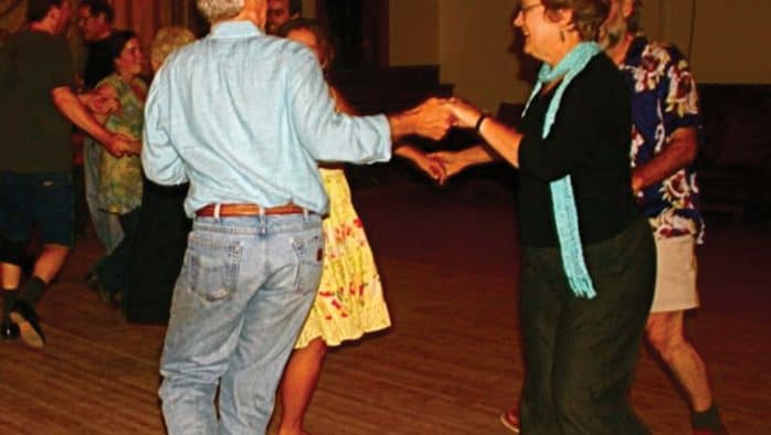 Historic Pierce Hall is home to Rochester contra dance