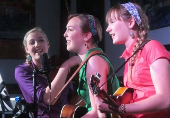 The Connor Sisters join Snake Mountain Bluegrass for a concert in Fair Haven