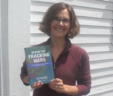Beyond the fracking wars, local author presents fact to foster educated debate